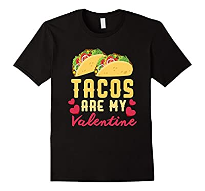 Funny Valentines Day Shirt Tacos Lovers Love Heart Gift Idea