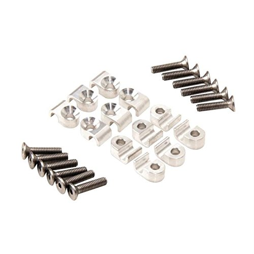 Aluminum Brake Line Clamps, 3/16 Inch, Set of 12