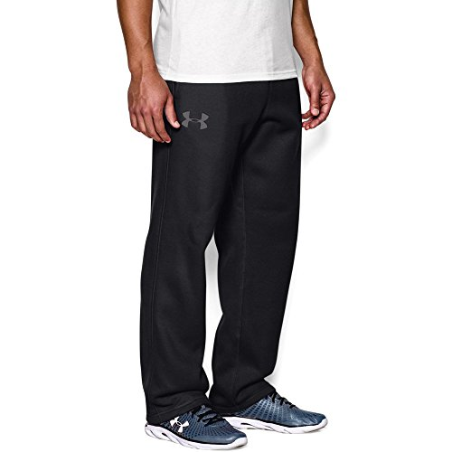 Midweight Fleece Pant - Under Armour Men's Rival Fleece Pants, Black (001)/Graphite, XX-Large