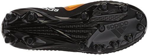 Adidas Heren Buitenissig X Carbon Mid Voetbalschoen Kern Zwart / Wit / Goud