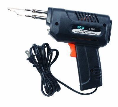 100w Ul Soldering Gun (ECG J-100 Electric Corded Medium Duty Soldering Gun, 140/100W)