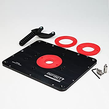 Infinity tools router table insert plate amazon infinity tools router table insert plate keyboard keysfo