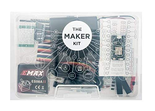 Particle | Particle Maker Kit | Photon Wi-Fi with Headers | Reprogrammable IoT Development Kit for Prototyping | Scale Internet of Things Products | Cloud Access | Great for Electronics Projects