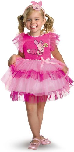 Frilly Piglet Costume - Small (2T) ()