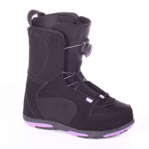 HEAD Coral Boa Women's Snowboard Boots Black/Purple 10.5