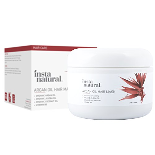 InstaNatural Argan Oil Hair Mask - Best Conditioner Treatmen