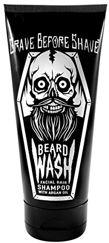 GRAVE BEFORE SHAVE™ BEARD WASH SHAMPOO 6oz. Tube