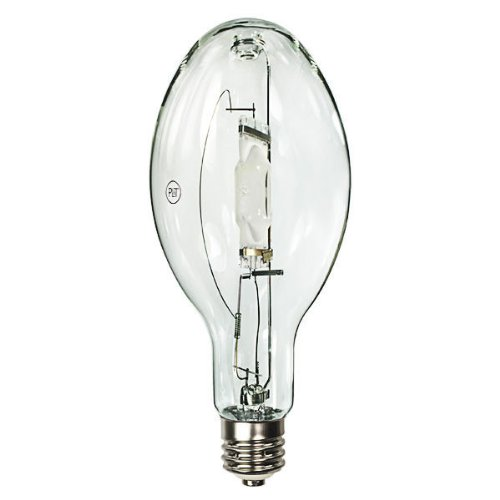 400 Watt - ED37 - Metal Halide - Unprotected Arc Tube - 4000K - ANSI M59/E - Mogul Base - Universal Burn - MH400W/U - PLT - Lamp Ed37 Metal Halide