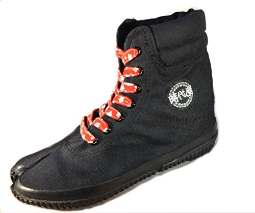 Jidaiya Kimono Sneakers Zwart Kanton Oranje