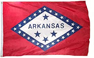 product image for Eder Flag - Arkansas Flag - Endura-Nylon - 12 Inches by 18 Inches