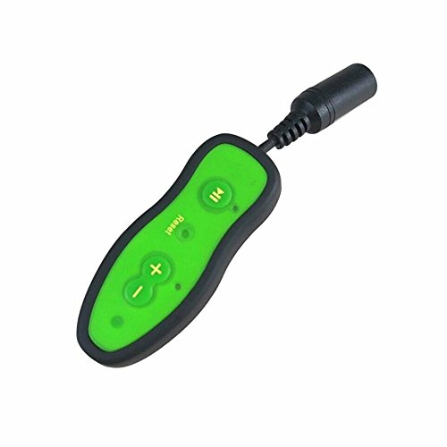 (Waterproof MP3 Player 4GB with 3.5mm Headphone Clip Ipx8 Level of Waterproof Mp3 Player for Swimming Running Diving sports (4G GREEN))