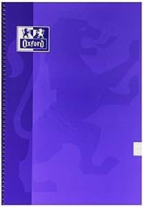 Oxford 736530 - Cuaderno folio horizontal, 80 hojas