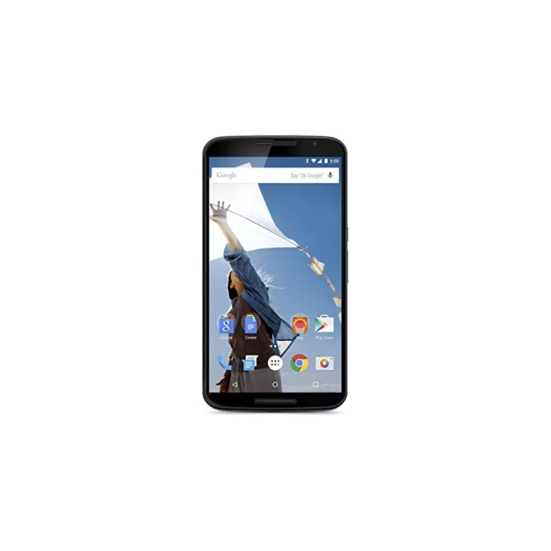 Motorola Nexus 6 Unlocked Cellphone, 64G