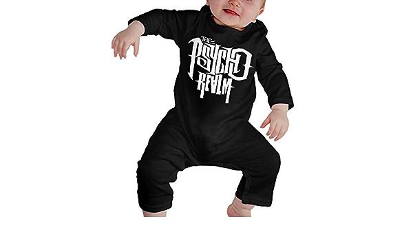 The Psycho Realm Hip Hop Rap Reci/én Nacido Gilrs Boy Ni/ños Body para beb/é Manga Larga Ni/ño peque/ño