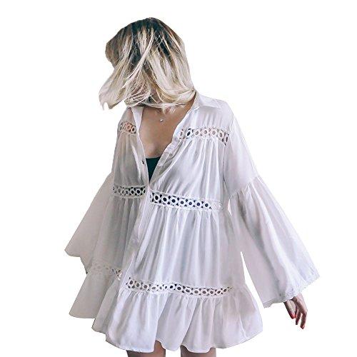 Tossun Women's Bathing Suit Cover up Bikini Swimwear Dress Coverups Beach Swimsuit by Tossun (Image #4)