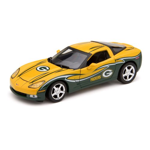 UPC 782870493150, Upper Deck Collectibles NFL Corvette Coupe - Green Bay Packers