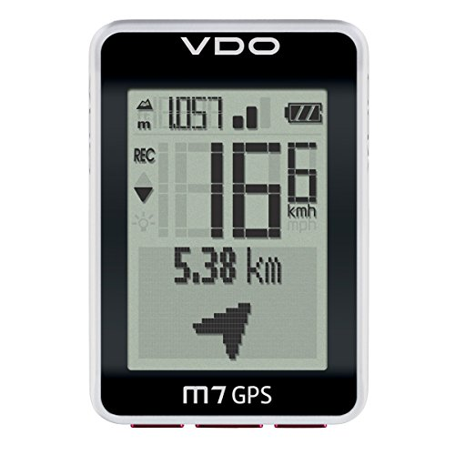 VDO M7 GPS with Motion Sensor Digital Wireless Black Cycle Bike Cyclocomputer