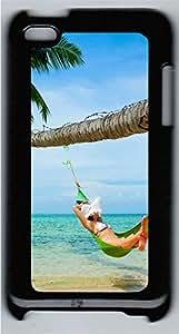 iPod 4 Case Beach Girls PC Custom iPod 4 Case Cover Black
