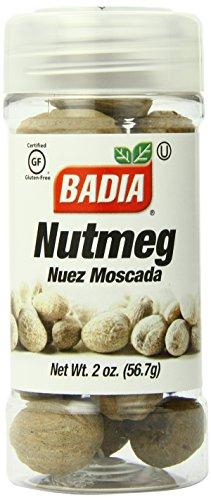 Badia Baking Nutmeg Whole, 2 Ounce (Pack of 12) by Badia