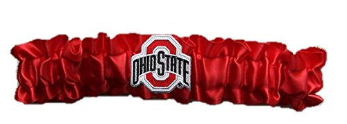 Ohio State Dainty Satin Garter