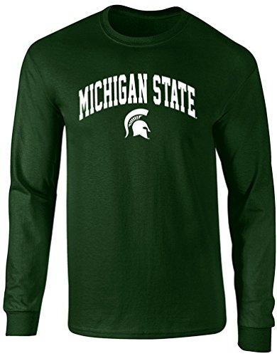 Michigan State Spartans Shirt T-Shirt Hat Jersey Flag Shorts University Apparel 2XL