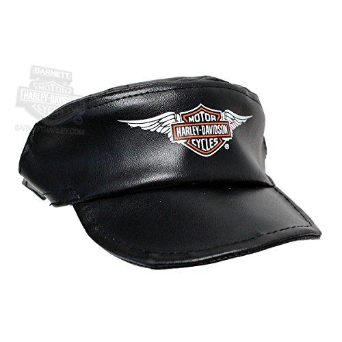 Harley-Davidson Pet Cap Black Vinyl - XS by Harley-Davidson