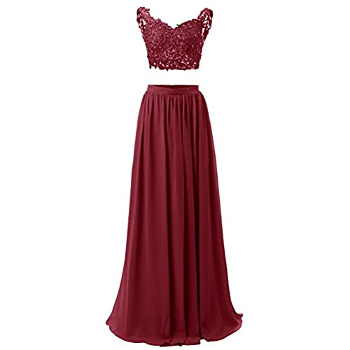 Long 2 Piece Prom Dresses: Amazon.com