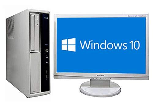 【お気にいる】 中古 NEC デスクトップパソコン Mate ML-F 液晶セット 液晶セット Windows10 中古 64bit搭載 Core i3-3220搭載 i3-3220搭載 メモリー4GB搭載 HDD1TB搭載 DVDマルチ搭載 B07L8VWZQ3, 質かづさや:29f76e97 --- arbimovel.dominiotemporario.com