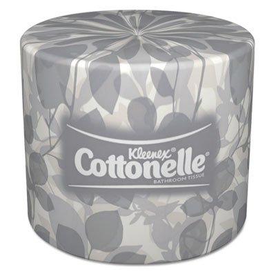 Kimberly-Clark Professional:Cottonelle バスルーム ティッシュ、1ロールあたり505シート、1カートンあたり60ロール-:- 2パックで販売 - 60 - / - 合計120枚 B00304ZOQS