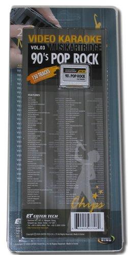LS-3C03 90's Pop-Rock Cartridge for LS-3000 Series Karaok...