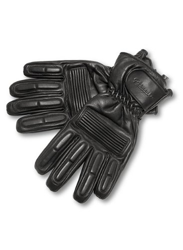Milwaukee Motorcycle Clothing Company Men's Gauntlet Gloves (Black, XX-Large)