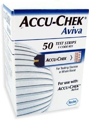 Accu-chek Aviva Blood Glucose Test Strips RETAIL 100 Ct.