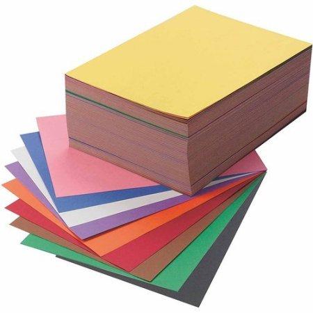 9x12 Sunworks Construction Paper (SunWorks Groundwood Construction Paper 9 x 12 10-Color Pack of 500)