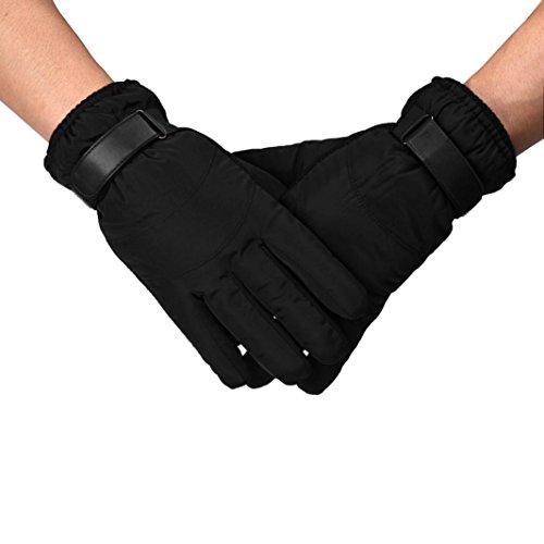 [Bolayu Men Anti Slip Snow Warm Motorcycle Ski Snowboard Gloves (Black)] (Pretty Little Liars Halloween Costume)