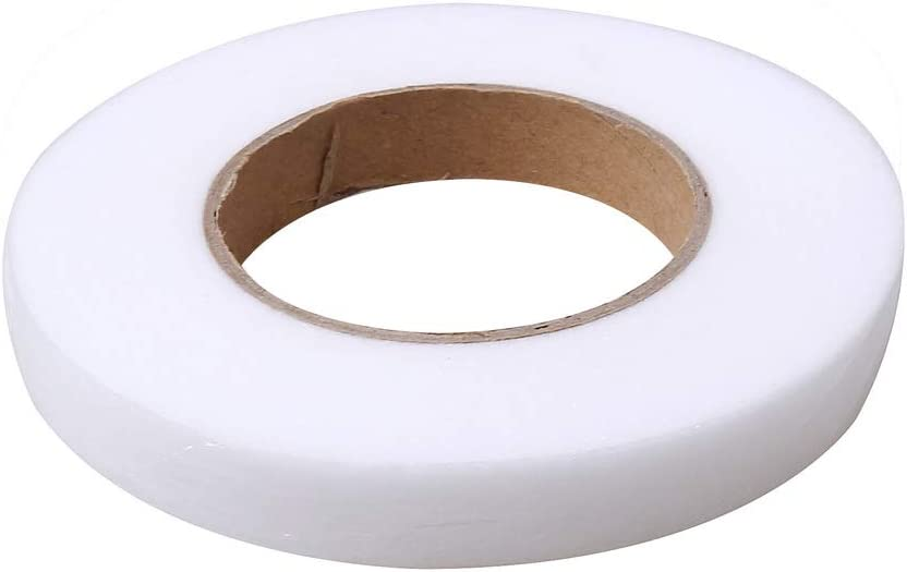 70 Yards,0.59 Inch and 0.79 Inch Adhesive Hem Tape Iron-on Hemming Tape Fabric Fusible Web Tape for Bonding Clothes Jeans Collars SUMAJU 2 Pack Fabric Fusing Tape