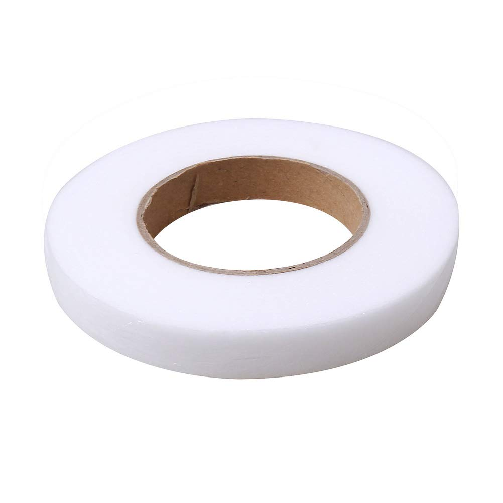20mm No Sewing Adhesive Fabric Fabric Fusing Tape Wide Wonder Web Hemming Tape for DIY Clothes Jeans kuou 2 Rolls 70 Yard Iron On Hem Tape 15mm
