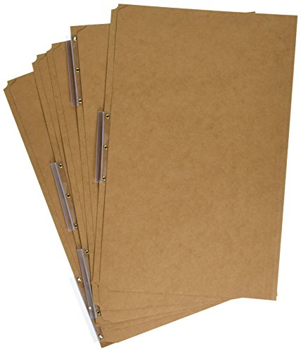 Pendaflex AC183-1/3 Pendaflex Kraft Angled Tab File Folders, 1/3 Cut, Top Tab, Legal, Brown, 50/Bx by Pendaflex