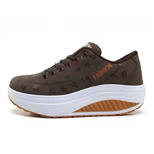 Marrone LFEU Sneaker LFEU LFEU Donna Donna Sneaker Marrone PWxB1qwq7a