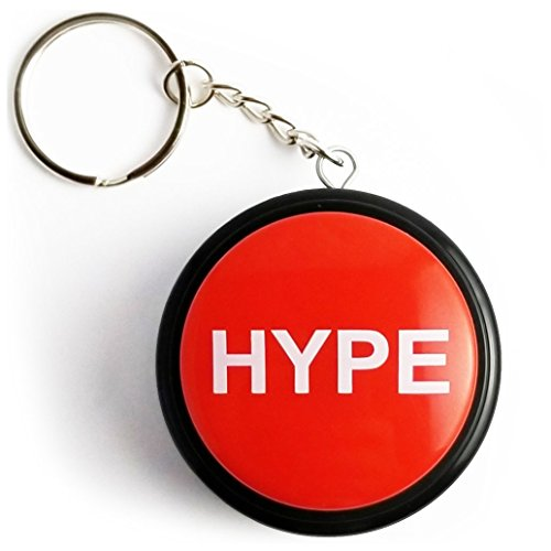 MOPAL Rap Airhorn Keychain, Hype Button, Batteries Included