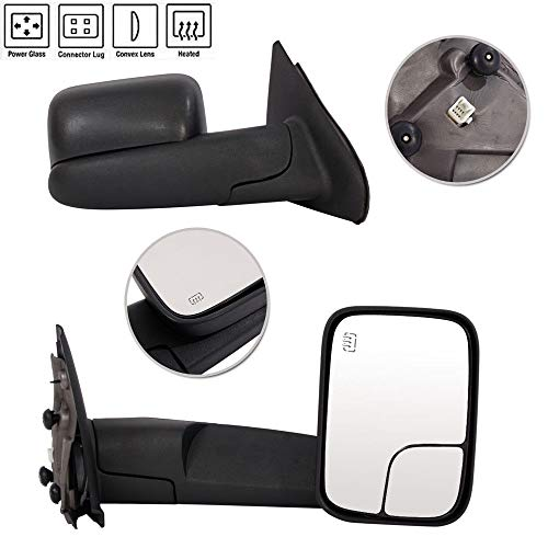 03 dodge ram towing mirrors - 3