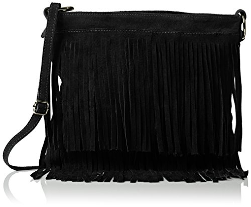 Negro Girly Daniela Handbags Bandolera Black Mujer Bolso 6P1vqw