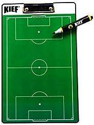 Prancheta Dupla Face Futebol, KIEF BR, Verde, Único