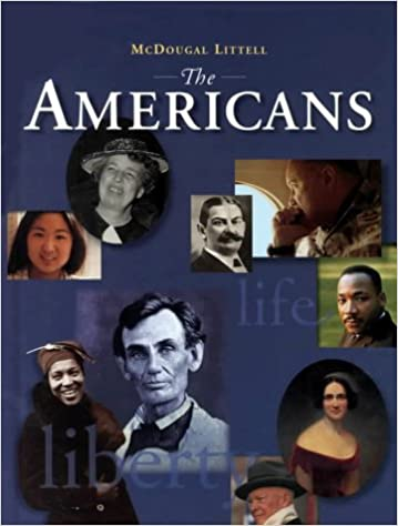 McDougal Littell The Americans Student Edition