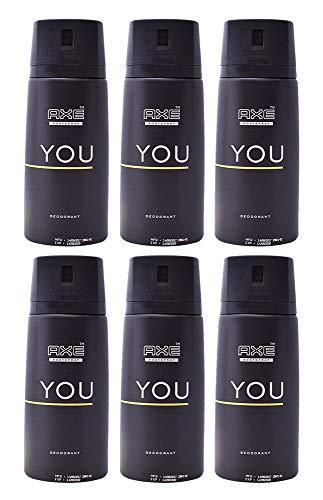 Axe Deodorant Body Spray You Mens Fragrance 150ml/5.07oz (6-Pack)