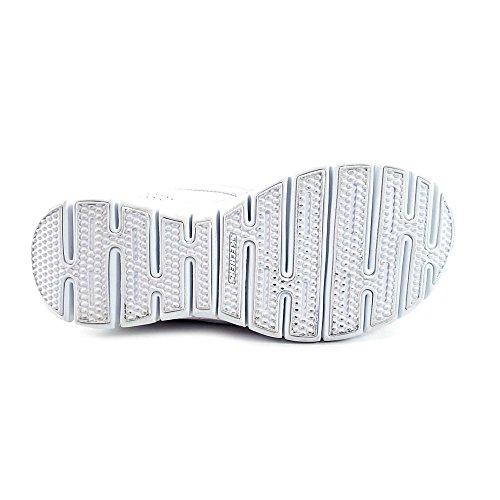 Skechers Sport Dames Elite Glam Synergy Instapper Mule Sneaker Wit / Roze