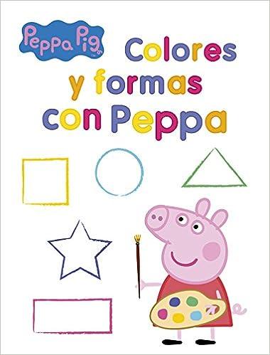 Colores Y Formas Con Peppa Peppa Pig Actividades Amazones