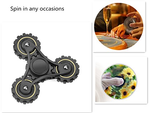 Hand Spinner, Fidget Toy, Fidget Spinner Toy, Anti Stress toys, Tri-spinner Fidget Toy Stress Reducer, Anxiety Toy, Toys for Killing Time, Comroll Tri Hand Spinner Fidget Toy for Kids/Adult Funny Toy