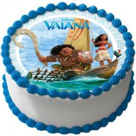 Vaiana 03 cobertura para tartas: Amazon.es: Hogar