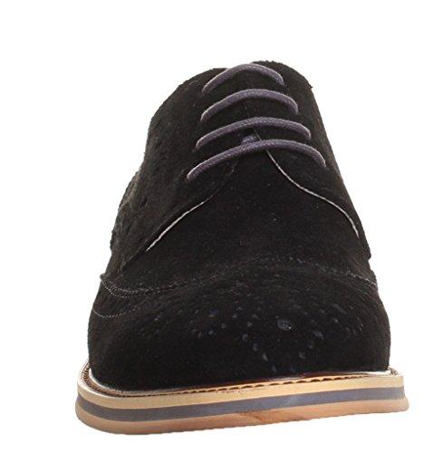 Noir Harold 44 CD15 Justin de à Noir pour Reece XB Homme Lacets Ville 2 Chaussures fw44qO65