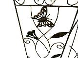 """Fancy Gardens Cattail Garden Trellis 9"""" x"""